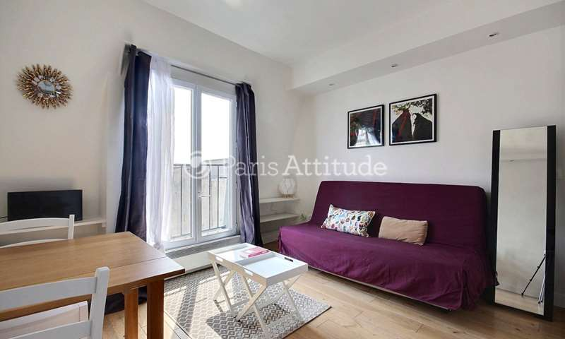 Rent Apartment Studio 18m² rue de Clery, 2 Paris