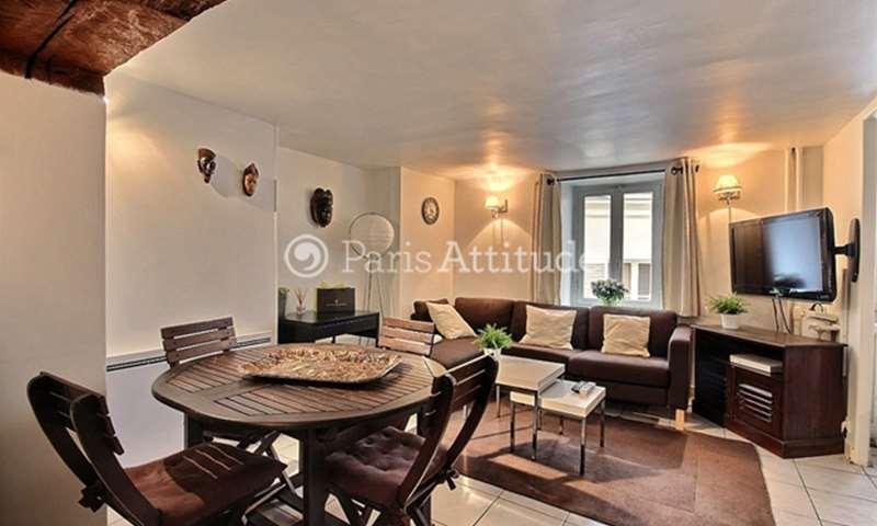 Rent Apartment Alcove Studio 35m² rue La Boetie, 8 Paris