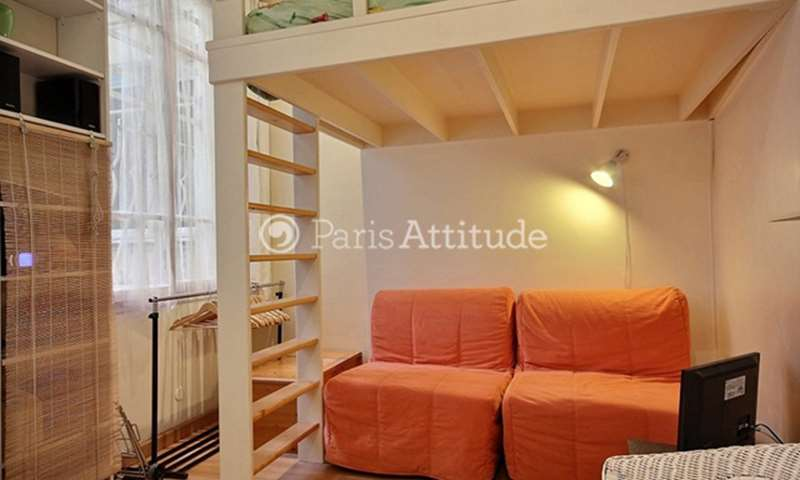 Location Appartement Studio 15m² rue des Lombards, 4 Paris