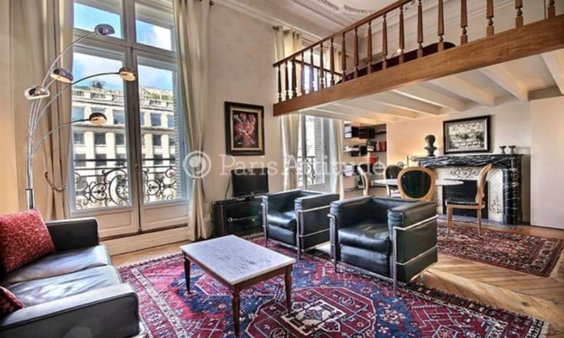 Rent Duplex Alcove Studio 55m² avenue de Friedland, 8 Paris
