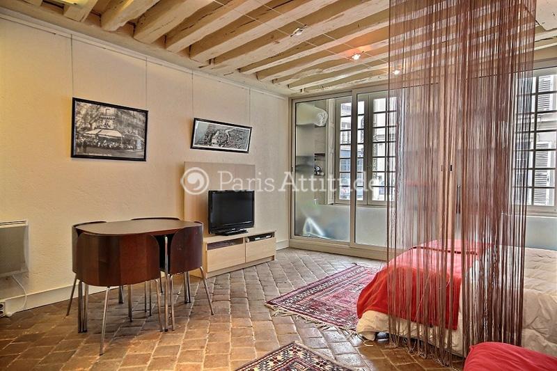 Louer un appartement paris 75006 33m saint michel - Mini seche linge appartement ...