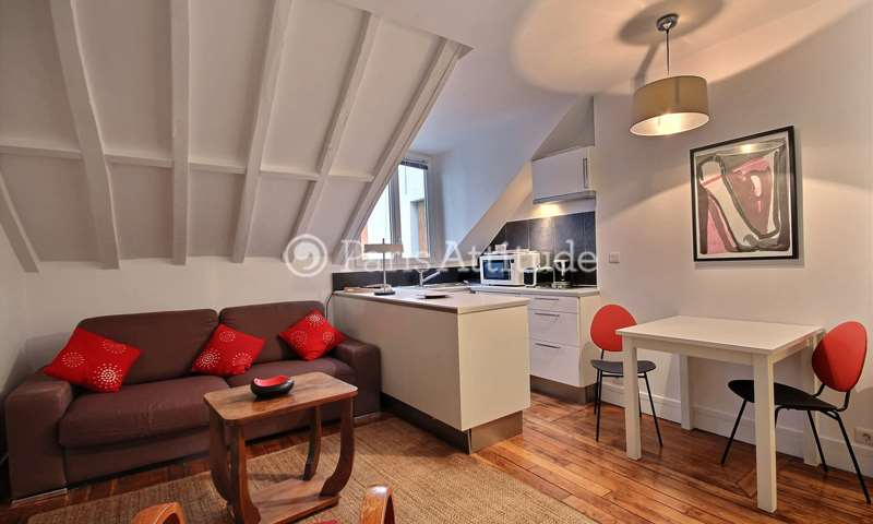 Location Appartement Studio 20m² rue Germain Pilon, 75018 Paris