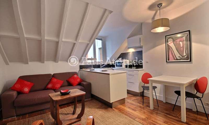 Rent Apartment Studio 20m² rue Germain Pilon, 75018 Paris