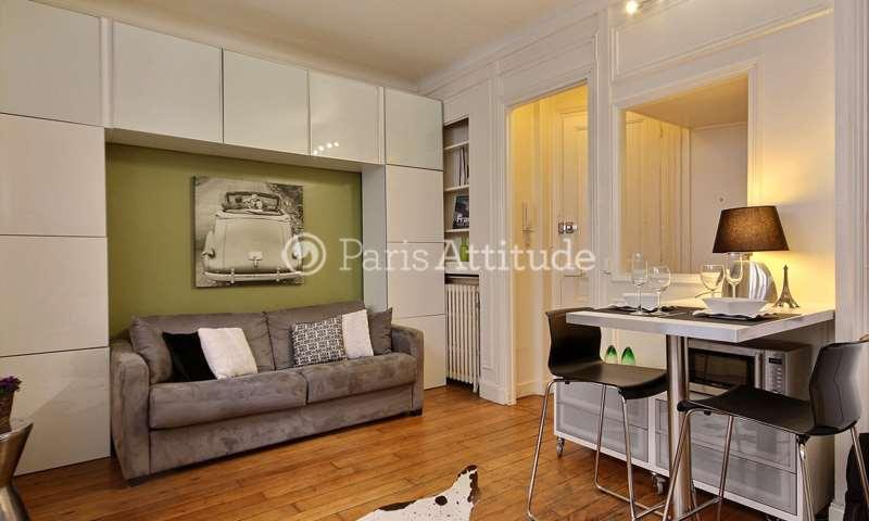 Rent Apartment Studio 21m² boulevard emile Augier, 75016 Paris