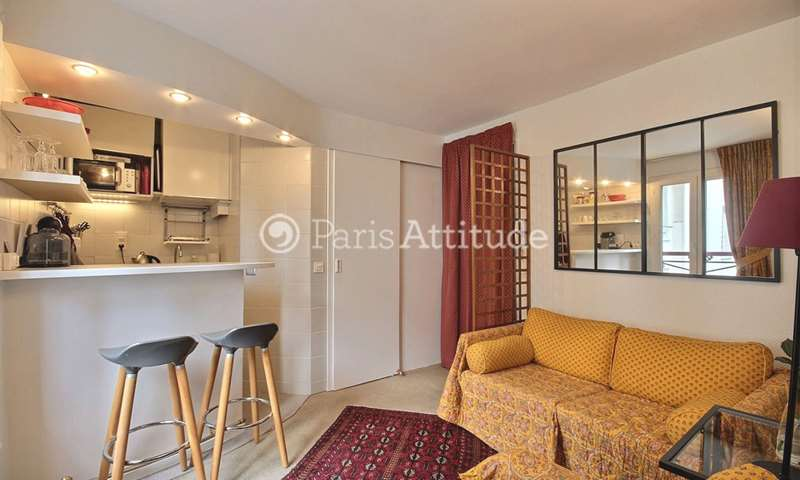 Rent Apartment 1 Bedroom 25m² rue Guisarde, 6 Paris