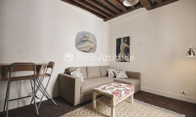 Location Appartement Studio 20m² boulevard Saint Germain, 6 Paris