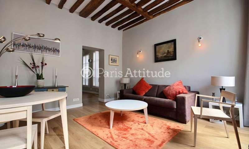 Rent Apartment 1 Bedroom 48m² rue Notre Dame de Nazareth, 3 Paris