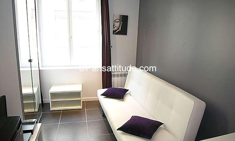 Location Appartement Studio 15m² rue Poissonniere, 2 Paris