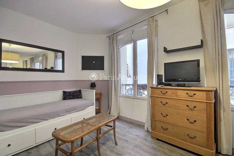 Rent furnished Apartment Studio 20m² rue du Faubourg Saint Martin, 75010 Paris