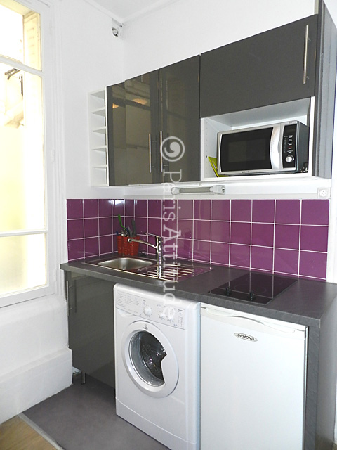 Rent apartment in paris 75007 15m eiffel tower ref 5433 - Cuisine amenagee petite surface ...
