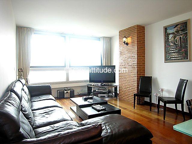 Aluguel Apartamento mobiliado 2 quartos 85m² square Leon Blum, 92800 Puteaux