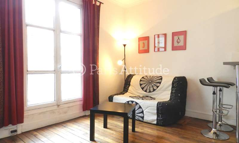 Rent Apartment Studio 17m² rue Gerando, 9 Paris