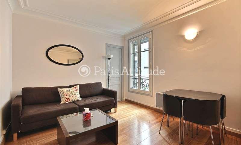 Location Appartement 1 Chambre 32m² rue du Mont Cenis, 18 Paris