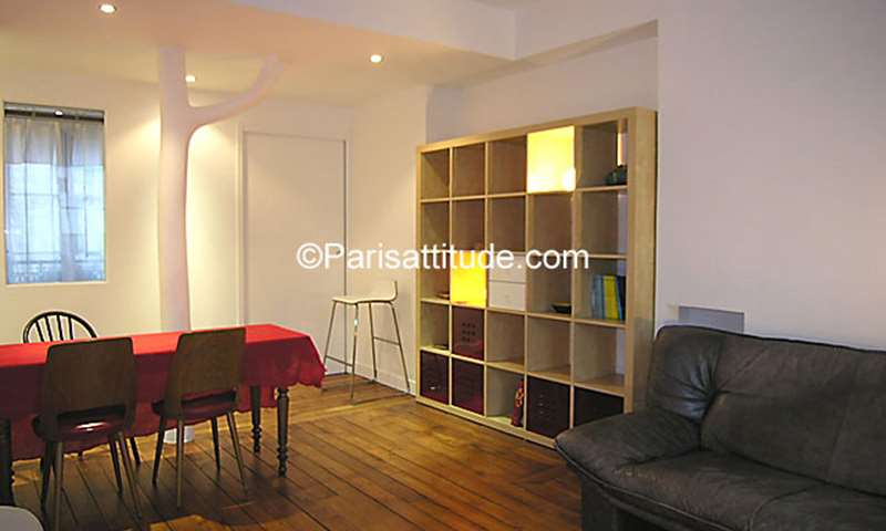 Location Appartement 1 Chambre 40m² rue Borda, 3 Paris