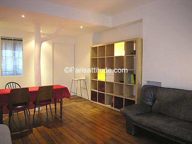 Rent furnished Apartment 1 Bedroom 40m² rue Borda, 75003 Paris