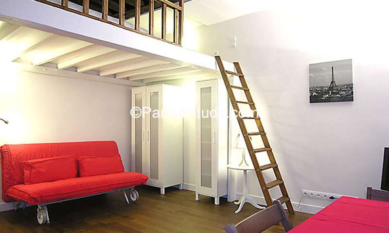 Location Appartement Studio 21m² rue Saint Martin, 75003 Paris
