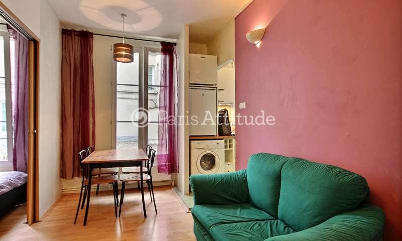 Rent Apartment 1 Bedroom 28m² rue Jean Nicot, 7 Paris