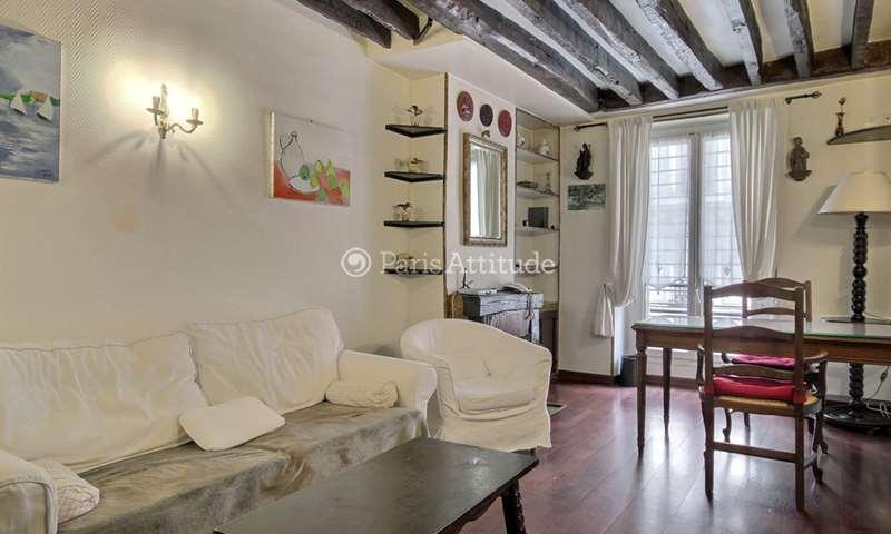 Aluguel Apartamento 1 quarto 35m² rue Brea, 6 Paris