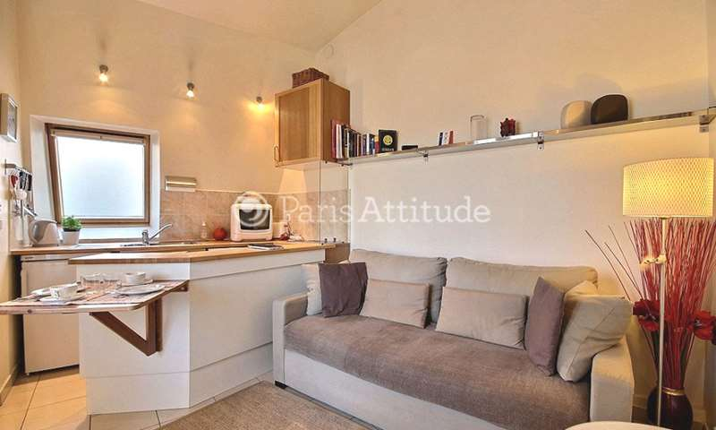 Rent Apartment 1 Bedroom 27m² boulevard de Courcelles, 8 Paris