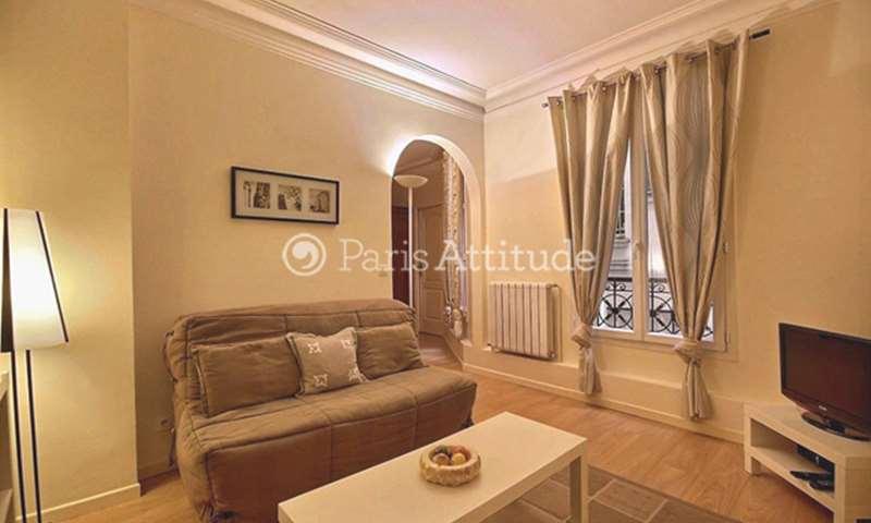 Aluguel Apartamento 1 quarto 38m² rue Versigny, 75018 Paris