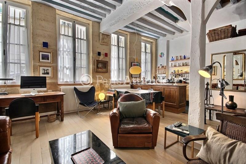 Location Appartement 1 Chambre 70m² rue des Tournelles, 75004 Paris
