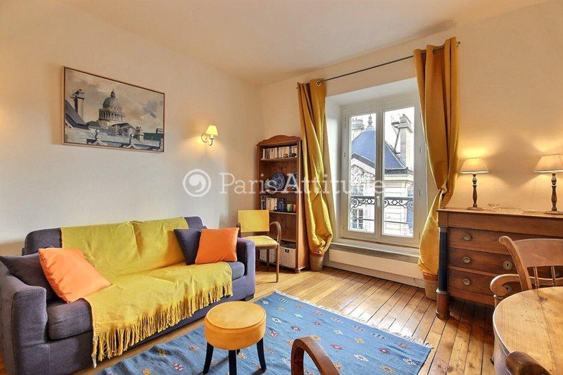 Rent furnished Apartment Studio 35m² rue Saint Jacques, 75005 Paris