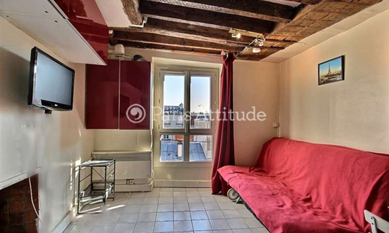 Location Appartement Studio 15m² rue des ecouffes, 75004 Paris