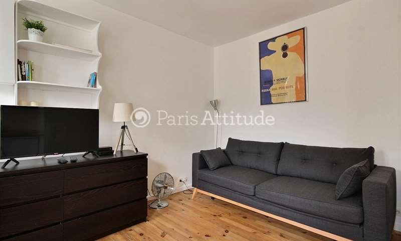 Rent Apartment Studio 18m² rue du Faubourg Saint Antoine, 11 Paris
