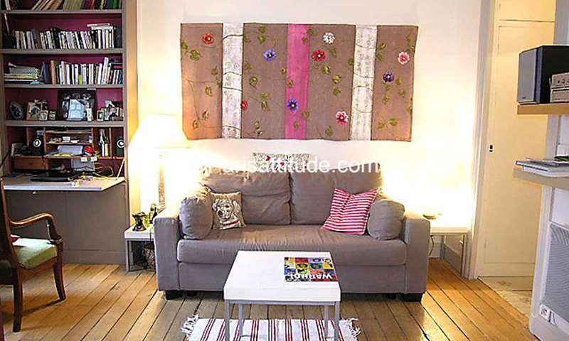Rent Apartment 1 Bedroom 35m² rue des Martyrs, 75009 Paris