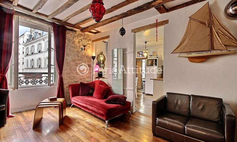 Rent Apartment 2 Bedroom 63m² rue Rodier, 75009 Paris