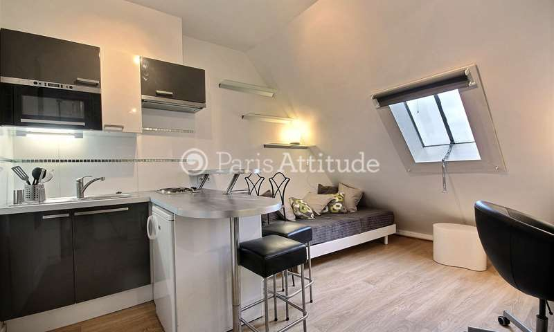 Rent Apartment Studio 15m² rue Cimarosa, 75016 Paris