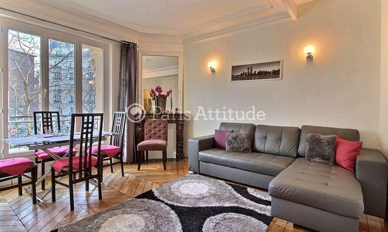 Rent Apartment 1 Bedroom 40m² avenue de Versailles, 16 Paris