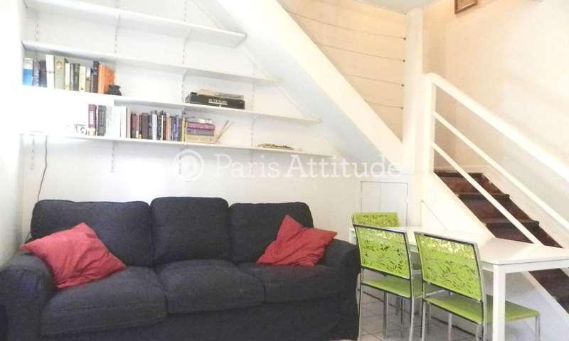 Aluguel Duplex 1 quarto 40m² rue du Dessous des Berges, 13 Paris