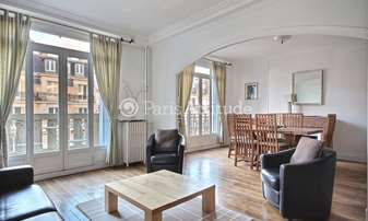 Rent Apartment 2 Bedrooms 94m² avenue de Suffren, 7 Paris
