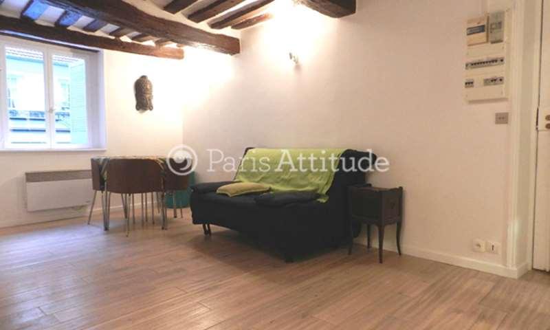 Rent Apartment Studio 23m² rue du Vertbois, 3 Paris