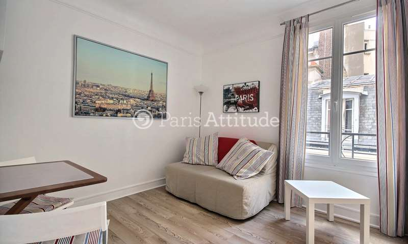 Rent Apartment Studio 20m² rue Des Renaudes, 17 Paris