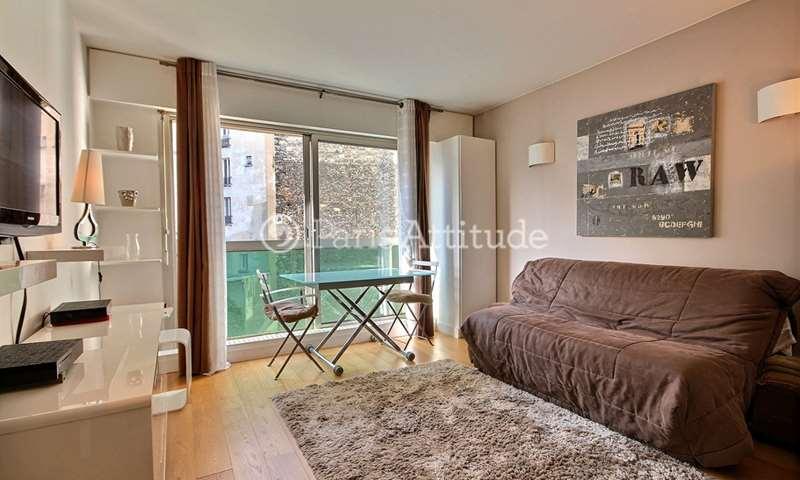 Rent Apartment Studio 34m² rue du Debarcadere, 17 Paris