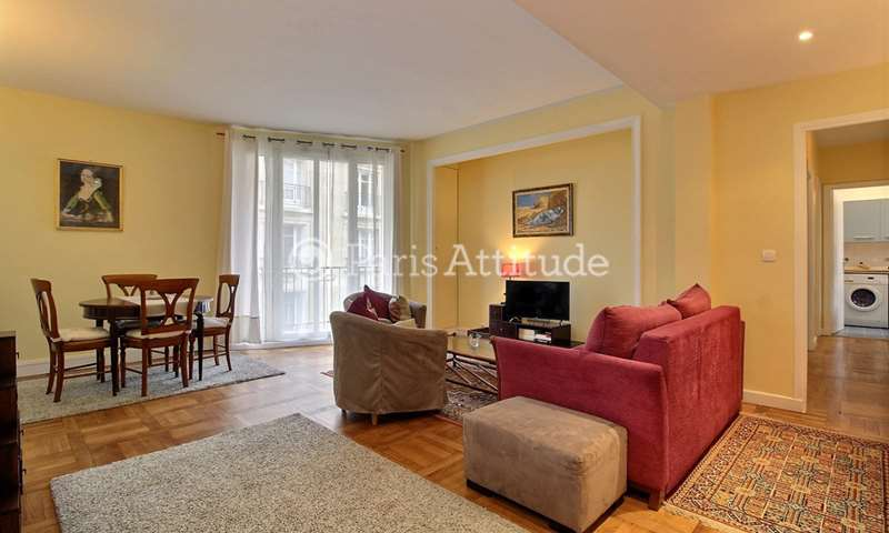Rent Apartment 2 Bedrooms 74m² rue Degas, 16 Paris