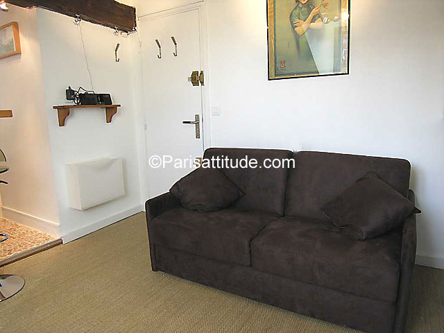Apartment Studio 16 m² Place Monge - Mouffetard