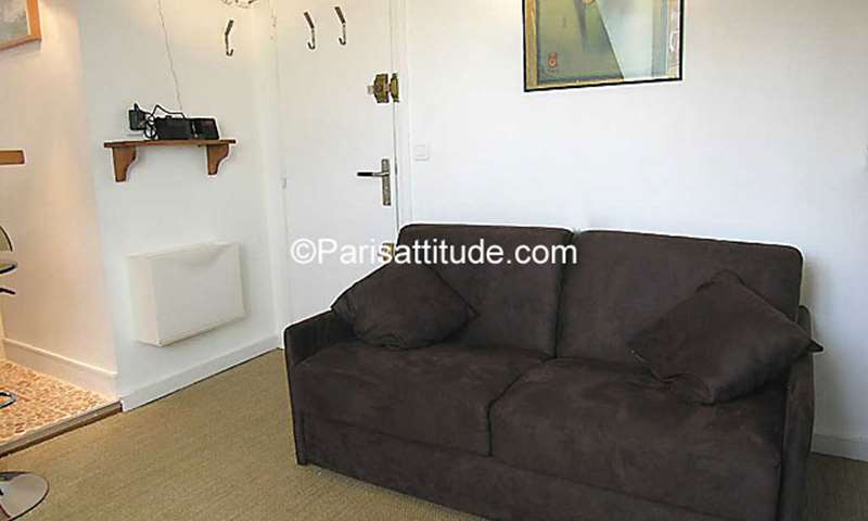 Location Appartement Studio 16m² rue edouard Quenu, 75005 Paris