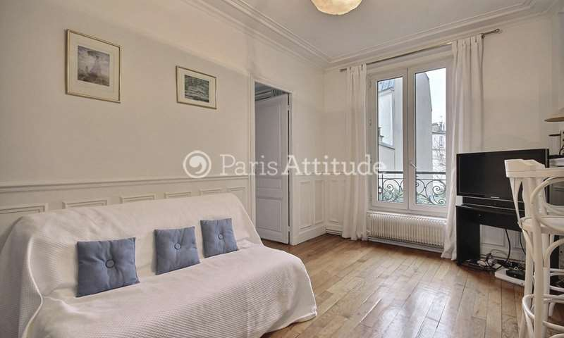 Rent Apartment 1 Bedroom 40m² rue Lepic, 18 Paris
