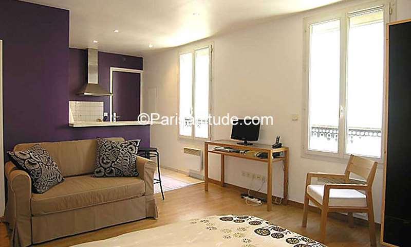 Rent Apartment Studio 29m² rue de la Croix Nivert, 15 Paris
