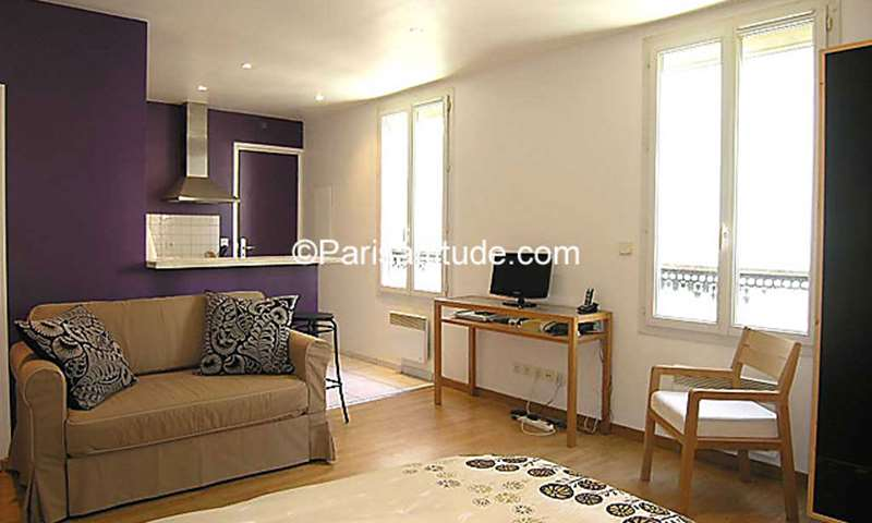 Rent Apartment Studio 29m² rue de la Croix Nivert, 15 Paris