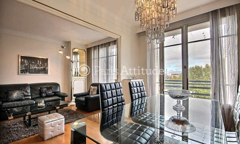 Rent Apartment 1 Bedroom 60m² boulevard Bessieres, 75017 Paris