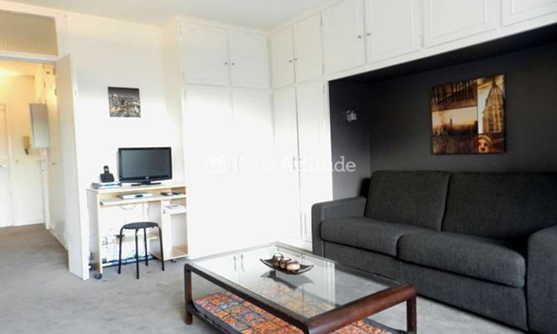 Rent Apartment Studio 32m² rue Broussais, 75014 Paris