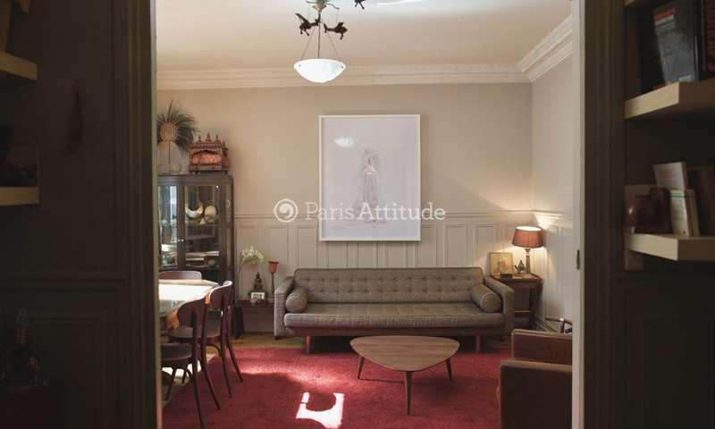 Location Appartement 2 Chambres 70m² rue de Civry, 75016 Paris