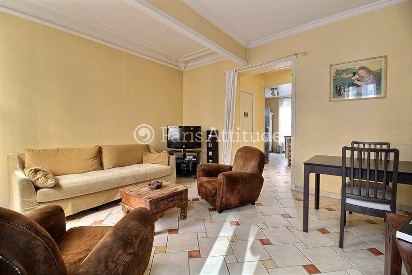 Rent furnished Duplex 2 Bedrooms 81m² rue de la Tour, 75016 Paris