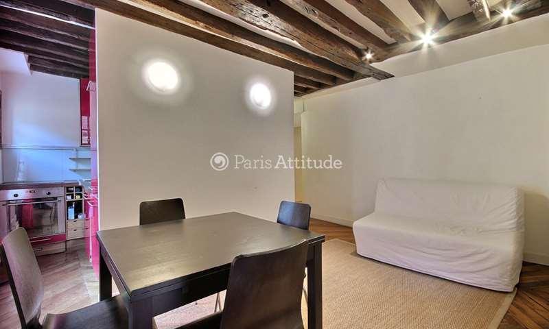 Rent Apartment 1 Bedroom 42m² rue Saint Augustin, 2 Paris