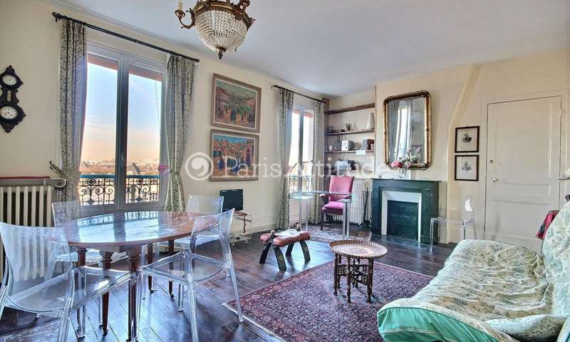 Rent Apartment 1 Bedroom 47m² avenue Claude Vellefaux, 10 Paris