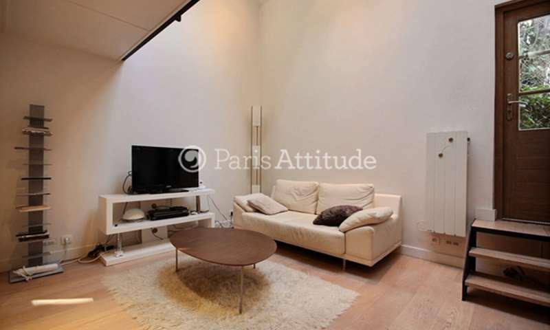 Rent Duplex Alcove Studio 29m² rue Henri Barbusse, 5 Paris